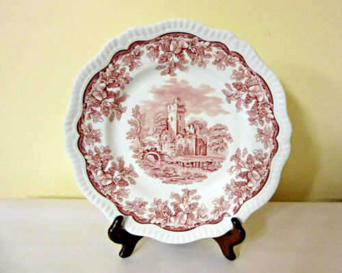"Spode Archive Collection Regency Series, ""Ruins"" Plate, Reproduction"