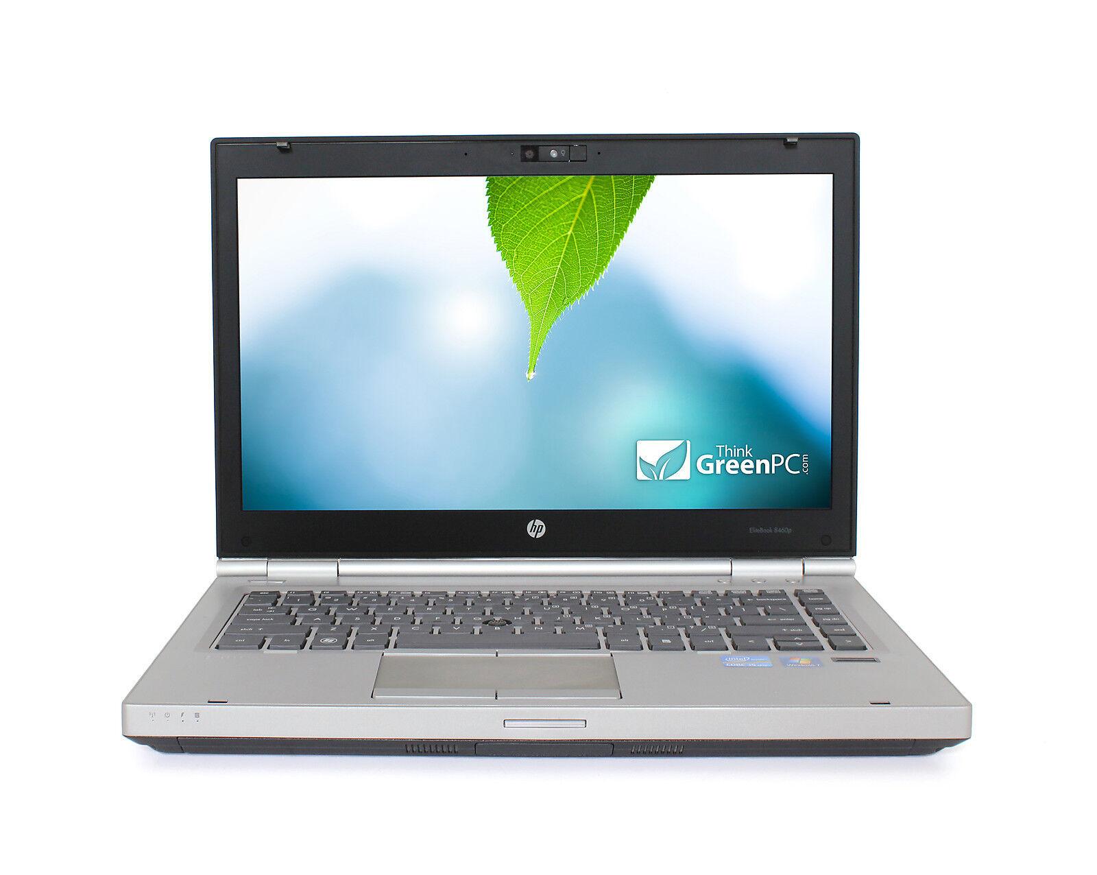 "HP 8470P 14"" Laptop Windows 10 Dual Core 3rd Gen i5 2.6Ghz 4GB RAM 320GB HD WiFi"