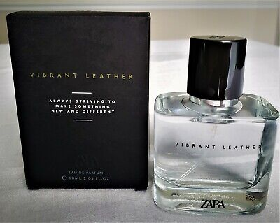 Zara Vibrant Leather 60ml / 2.03 oz Men's EDP, BNIB SEALED