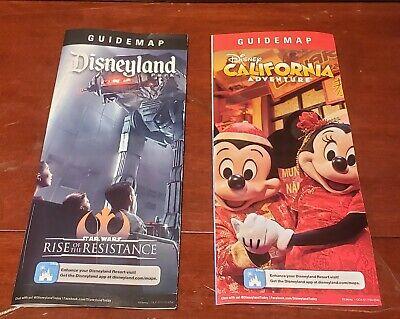 Disneyland / Disney California Adventure Guide Map Rise of the Resistance (Disneyland California Adventure)