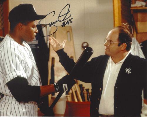 NEW YORK YANKEES DANNY TARTABULL SIGNED AUTHENTIC 'SEINFELD' 8X10 PHOTO B w/COA