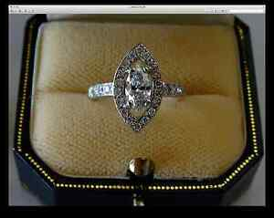 Hand crafted diamond engagement ring set in 18K white gold Highfields Toowoomba Surrounds Preview