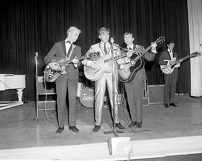 """Billy Fury and Tornados Great Yarmouth 10"""" x 8"""" Photograph no 11"""