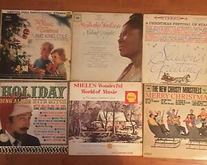 Christmas LP Vinyl Records