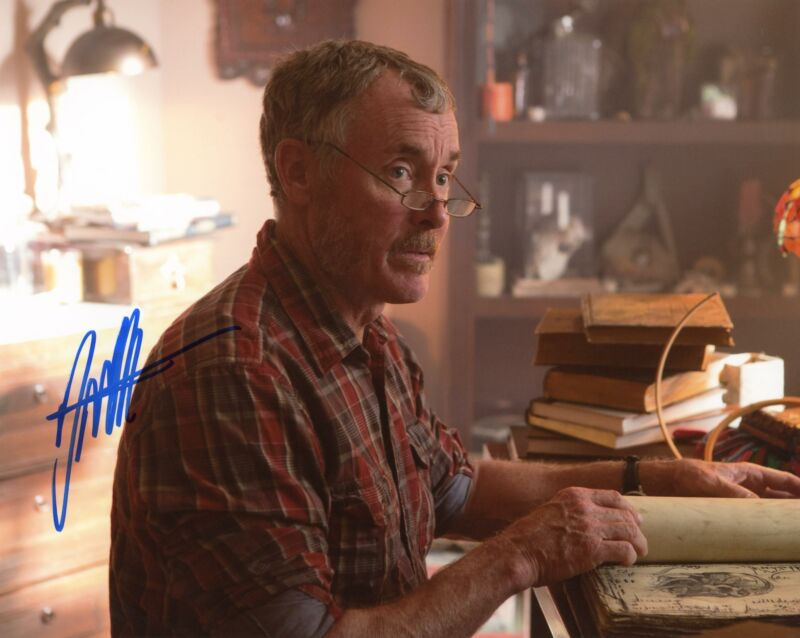 "John C. McGinley ""Stan Against Evil"" AUTOGRAPH Signed 8x10 Photo"