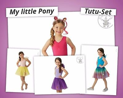 My little Pony Kostüm Set Tutu Rainbow Dash Fluttershy Twilight Sparkle 12333813