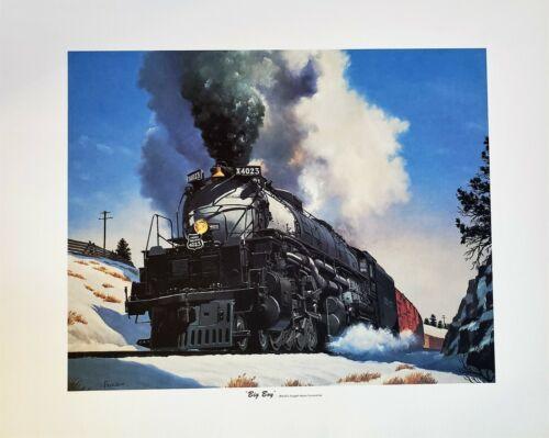 Union Pacific BIG BOY  Print by Howard Fogg