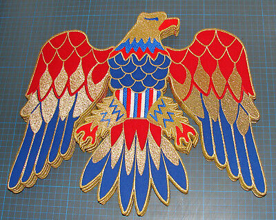 BACK PATCH Elvis Presley jumpsuit cape american eagle costume embroidery patch (Elvis Presley Jumpsuits)
