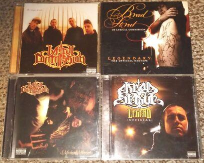 Brad Strut Lyrical Commission Classic Rare Aus Hip Hop CDs Essendon Moonee Valley Preview
