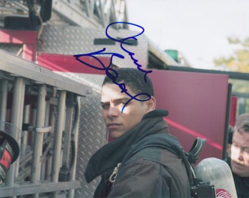 Charlie Barnett Signed Autographed 8x10 Photo Peter Mills Chicago Fire C