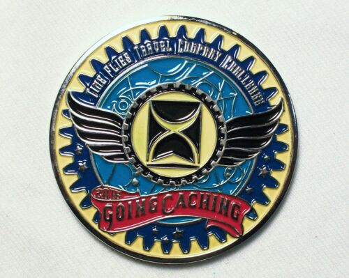 Going Caching 2016 - Georgia State Parks - New Unactivated Geocoin