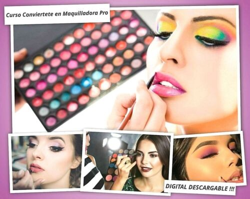 Curso Conviertete en Maquilladora Profesional - CURSO DIGITAL DESCARGABLE