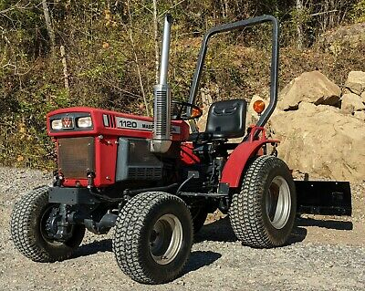 1994 Massey Ferguson 1120 W60 Rear Blade- Only 817 Hours 4wd - 45701 Athens