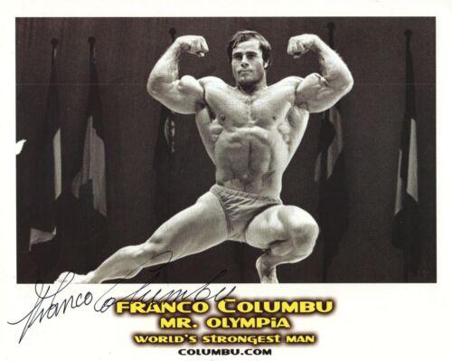FRANCO COLUMBU HAND SIGNED 8x10 PHOTO+COA        RARE      WORLD