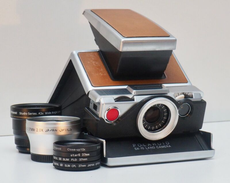 Polaroid SX-70 37mm Filter/Lens Adapter   SX-37