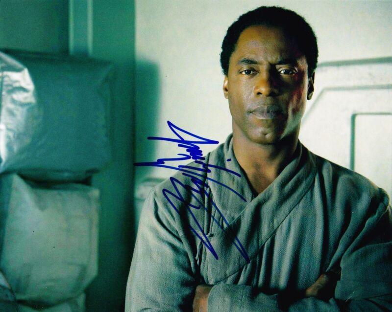 ISAIAH WASHINGTON SIGNED 8X10 PHOTO AUTHENTIC AUTOGRAPH GREYS ANATOMY THE 100