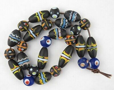 Arunachal Pradesh / North Indian / Venetian lampwork trade beads (1)