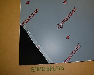Black Polycarbonate Lexan Makrolon Sheet 316 X 12 X 12
