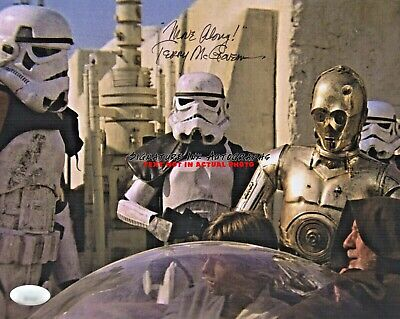 TERRY McGOVERN Signed 8X10 Photo STAR WARS STORMTROOPER Autograph reprint