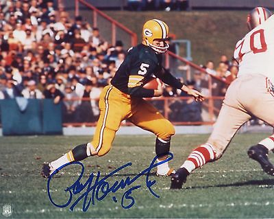 PAUL HORNUNG Autographed Signed PHOTOGRAPH Football NFL Heisman Green Bay Packer