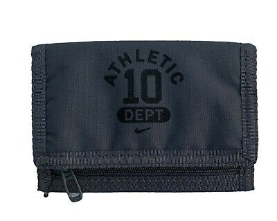 New NIKE Athletic Dept Boys Sports WALLET Dark Grey