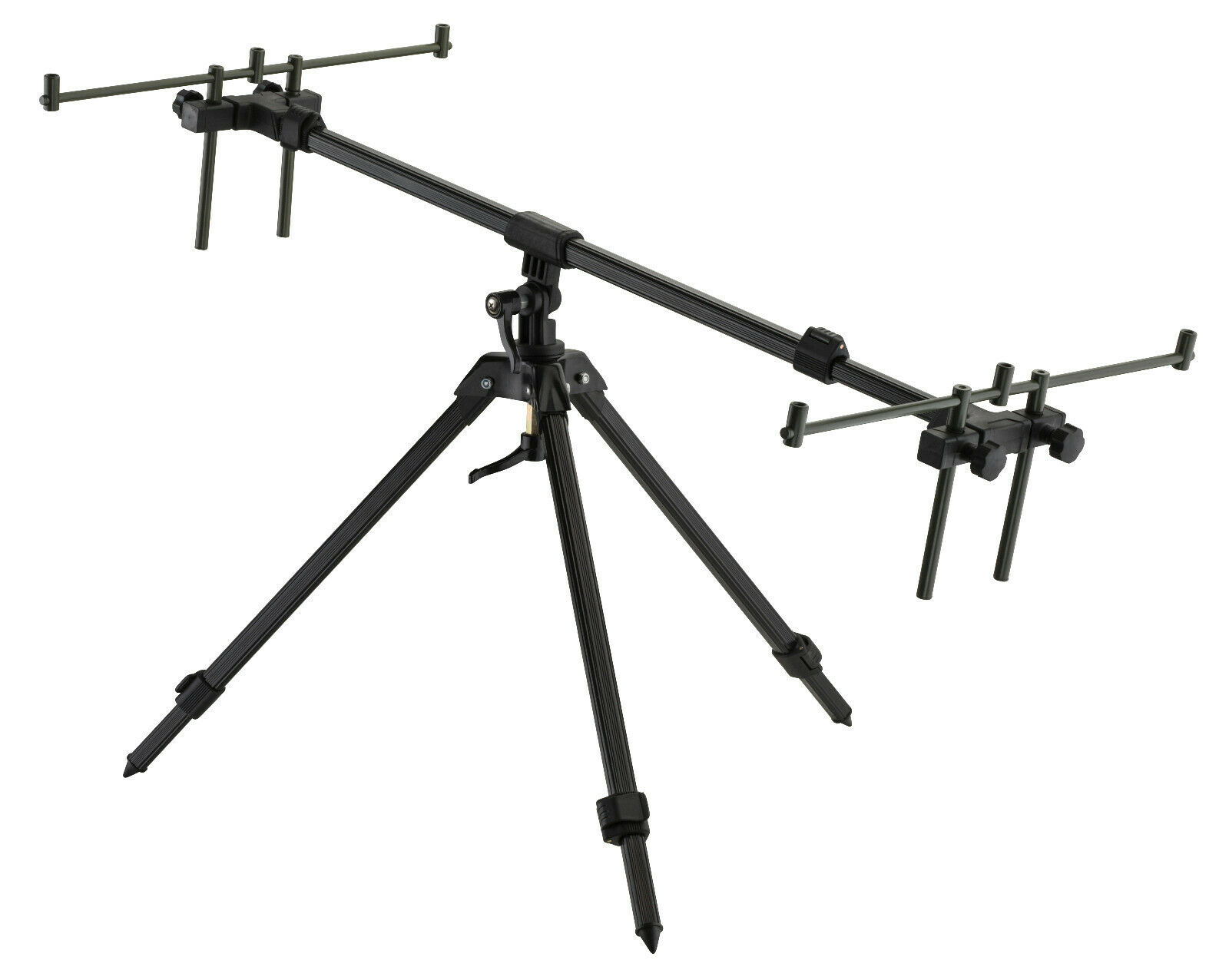 Cormoran Pro Carp Gun Pod Rod Pod Rutenständer 360° drehbar Rutenhalter 3 Ruten