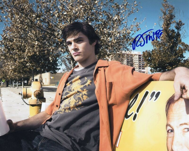 RJ Mitte Breaking Bad Walter White Jr. Signed 8x10 Photo w/COA #5