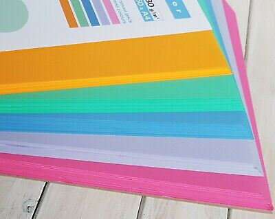 A4 Multi Assorted Colour Paper Folding Printing A5 Card Making Craft Essential A4 Paper Folding
