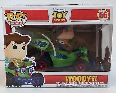 Disney Pixar Toy Story Woody With RC Funko Pop Vinyl Rides New 56