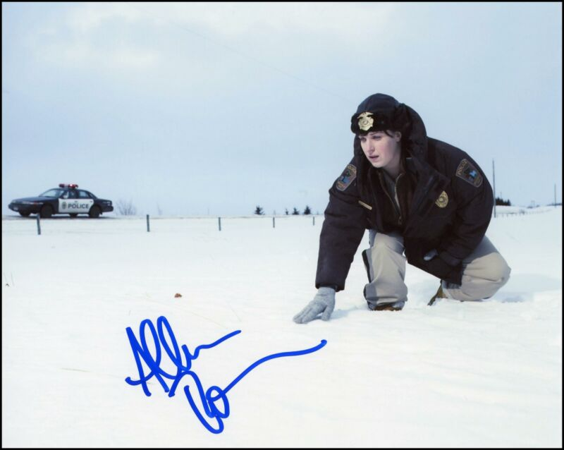 """Allison Tolman """"Fargo"""" AUTOGRAPH Signed 'Molly Solverson' 8x10 Photo ACOA"""