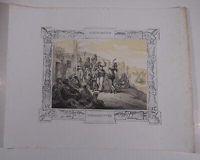 Mayr, H. Orient Ägypten Ansicht  1840 - Kostüme von Oberägypten