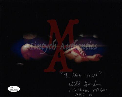 WILL SANDIN HALLOWEEN AUTOGRAPHED SIGNED 8x10 PHOTO! JSA COA! MICHAEL MYERS!