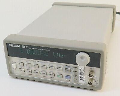 Agilent 33120a 15mhz Function Arbitrary Waveform Generator - Option 1