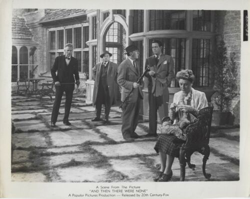 Vintage AND THEN THERE WERE NONE Still Barry Fitzgerald Judith Anderson