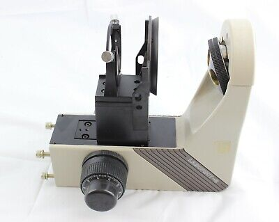 Nikon Labophot 2 Focus Block With Stage And Condenser Holder Arm Base Microscope