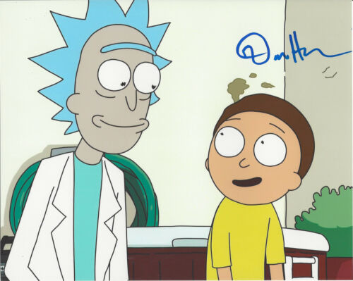 DAN HARMON - RICK AND MORTY CREATOR - SIGNED AUTHENTIC 8X10 PHOTO 16 w/COA PROOF