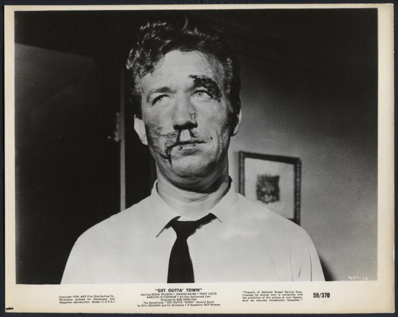 Get Outta Town '59 DOUG WILSON BLOOD TIE VERY RARE PHOTO