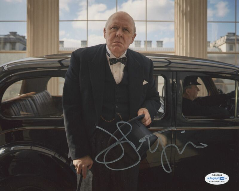 JOHN LITHGOW SIGNED THE CROWN 8X10 PHOTO 2 ACOA
