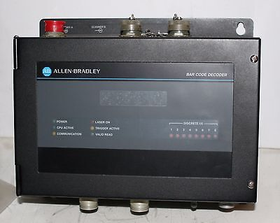 Allen Bradley Decoder Single For Bar Code System 2755-ds4a