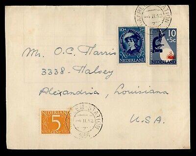 DR WHO 1956 NETHERLANDS HAARLEM TO USA C242614