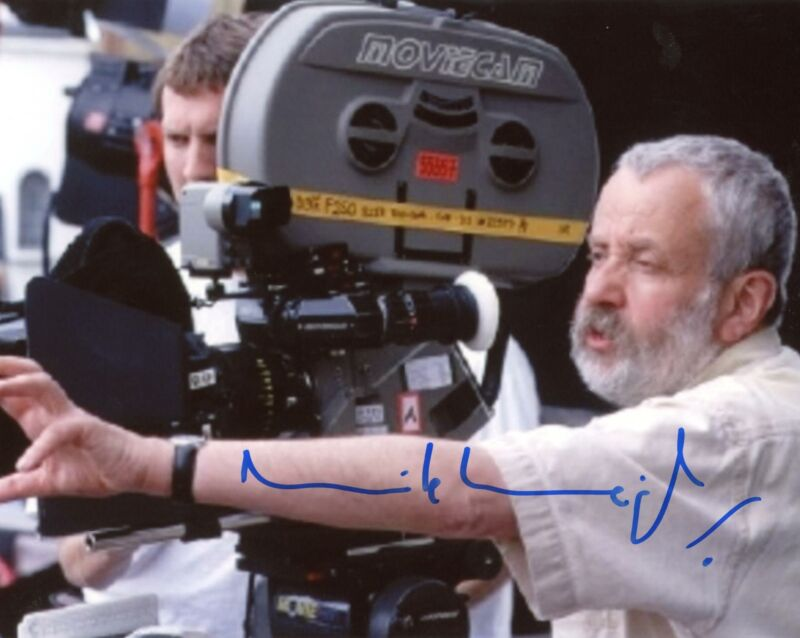 """Mike Leigh """"Mr. Turner"""" Director AUTOGRAPH Signed 8x10 Photo ACOA"""