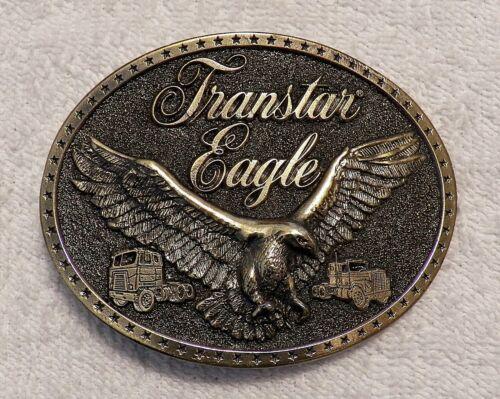 CLASSIC BELT BUCKLE INTERNATIONAL HARVESTER TRANSTAR EAGLE TRUCK 18 WHEELER BB3