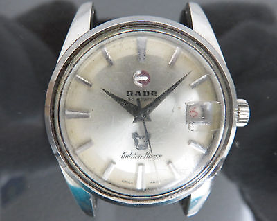 100% Authentic RADO 30Jewels Golden Horse Automatic Mens Wrist Watch 11675/1
