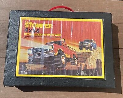 Vintage Schaper Stomper Official Collector's Carry Case 1981