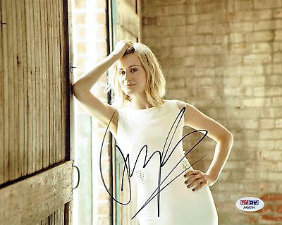 Taylor Schilling Signed Oitnb Authentic Autographed 8X10 Photo Psa Dna  Aa68794