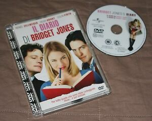 Il diario di Bridget Jones - Renée Zellweger (DVD; 2001) *JEWEL BOX*. - Italia - Il diario di Bridget Jones - Renée Zellweger (DVD; 2001) *JEWEL BOX*. - Italia