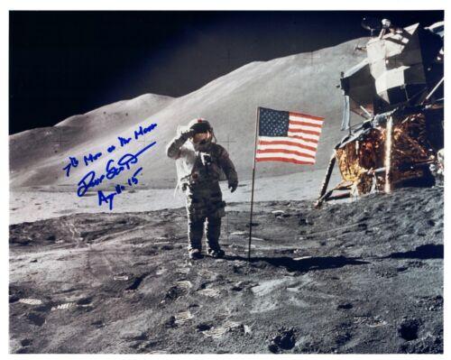 Dave Scott Apollo 15 Signed Kodak Color Photo
