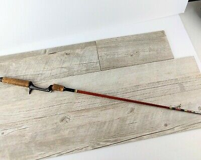 Vintage Heddon Pal #33 rod piece, handle/ butt only, 35 inches, Wood Rod