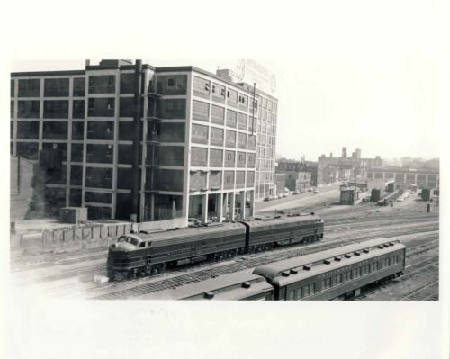1954 PA B&O ENGINE 1446 8X10 TRAIN PHOTOGRAPH BOB'S PHOTO ROBERT LILJESTRAND #03