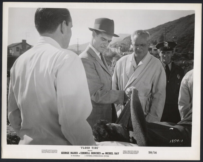 Flood Tide '58 RUSS CONWAY MAN ON A STRETCHER RARE